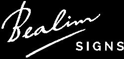 Bealim Signs